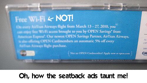 Free wifi - NOT!