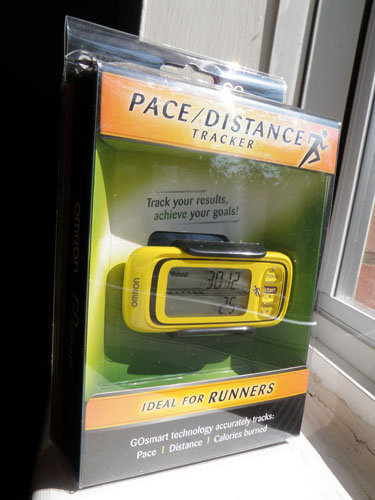 Omron Pace Distance Tracker