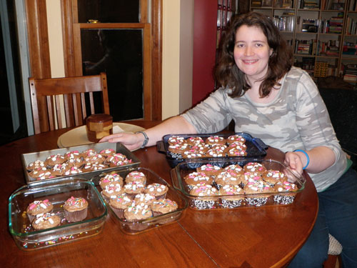 Me and my cupcakes