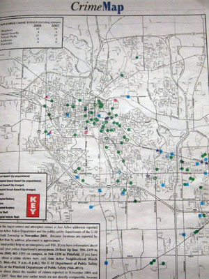 Crime map