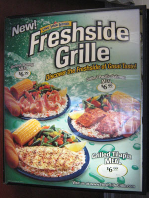 Freshside Grille Ad