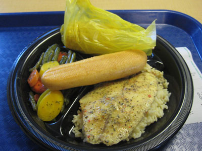 The tilapia meal