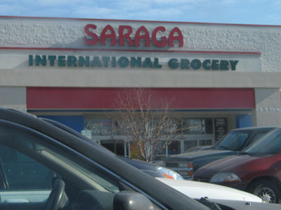 Saraga, the international grocery