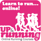 Learn to run...online! Up & Running online running courses