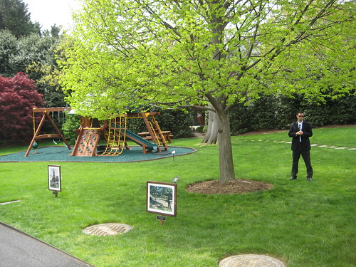 White House jungle gym