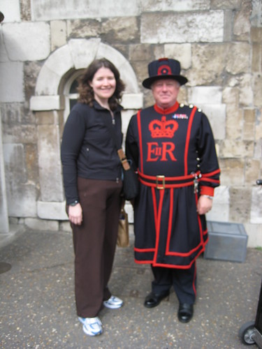 Me and a Beefeater