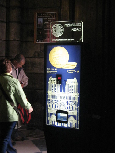 Souvenir coin machine