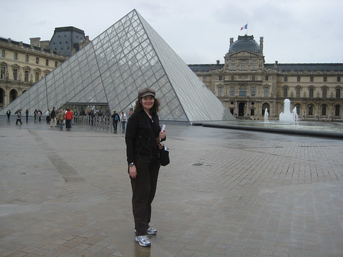 PastaQueen at the Louvre