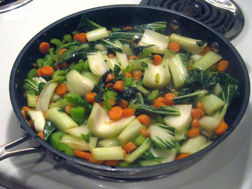 Stir-fry ingredients