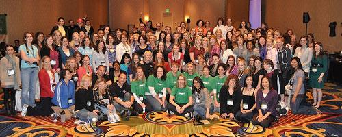 Fitbloggin' attendees