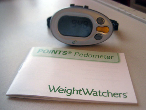Weight Watchers POINTS Pedometer