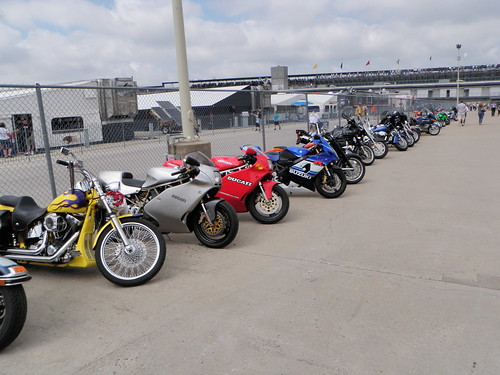 Indy 500 motorcycles