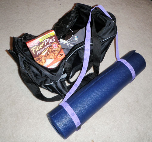 Gym bag - after photo
