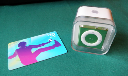 Subway Commit to Fit Giveaway: iPod Shuffle and $10 iTunes