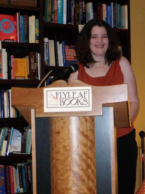 Book reading at Flyleaf Books