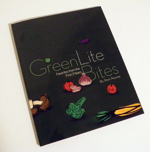 Green Lite Bites - The cookbook!