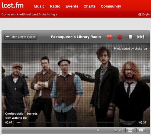 Last.fm radio