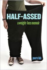 """Half-Assed"" book cover"