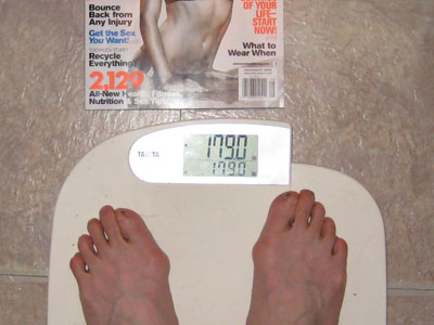Weight: 179 - Pounds to lose: ...
