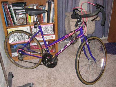 Bike, taking up space