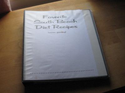 PastaQueen's recipe binder