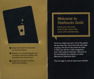Starbucks Gold