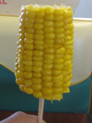 Corn on a stick