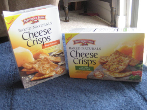 Pepperidge Farm Baked Natural Cheese Crisps